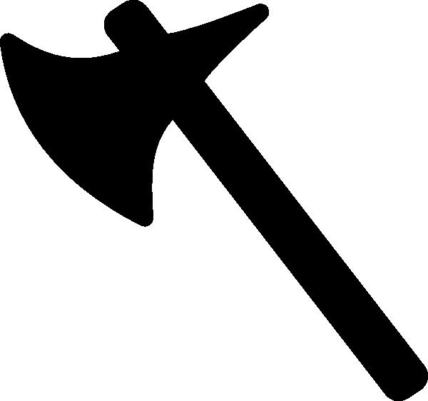 Newshordesaxeblack.gif Clip Art at Clker.com - vector clip ...