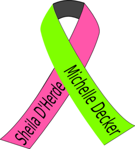 Breast Lymphoma Cancer Ribbon Clip Art