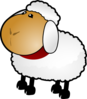 Sheep, Rotate 2 Clip Art