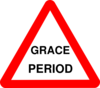 Grace Period Clip Art