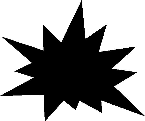 free starburst clip art at clker com vector clip art online