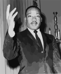 Martin Luther King Jr Clip Art