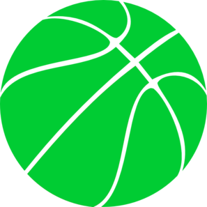 Green Basketball Clip Art