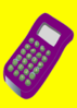 Purple Calculator Clip Art