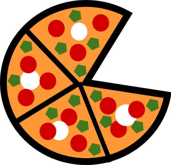 pizza slices clip art at clker com vector clip art online royalty rh clker com
