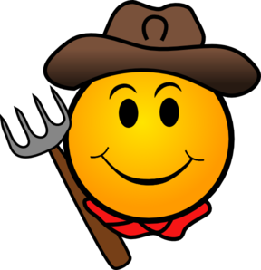 Farmer Smiley Clip Art