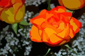Rose For Vector Clip Art