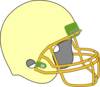 Football Helmet Peaches Clip Art