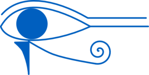 Blue. Eye Of Horus Clip Art