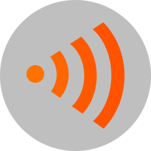 Wifi Orange Clip Art