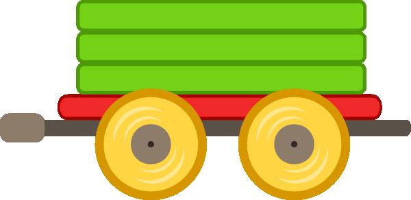 Train Car Green Clip Art At Clker Com Vector Clip Art