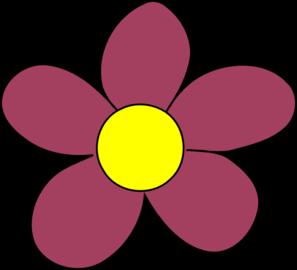 Purple Flower Clip Art at Clker.com - vector clip art online ...