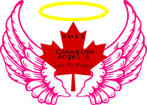 Canadian Wing Angel Halo 3 Clip Art