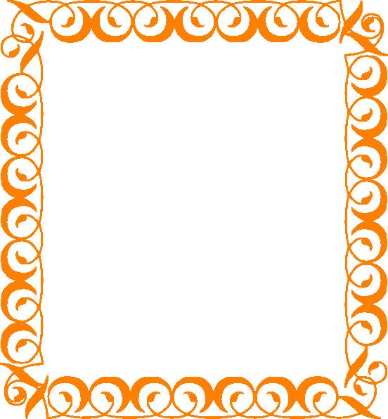 orange elegant border clip art at clker com vector clip art online rh clker com  elegant gold border clip art