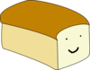 Loaf With Face Clip Art