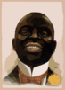 [bust Portrait Of Smiling African American, Facing Front] Clip Art