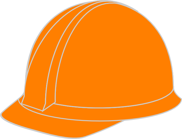 orange hard hat clip art at clker com vector clip art online rh clker com construction hard hat clip art free clipart hard hat