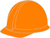 Orange Hard Hat Clip Art