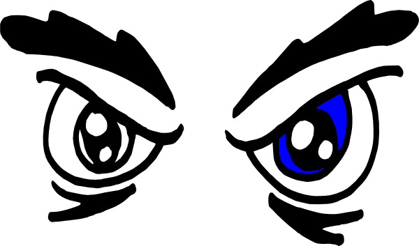 Scary Eyes Clip Art http://www.clker.com/clipart-angry-eyes.html