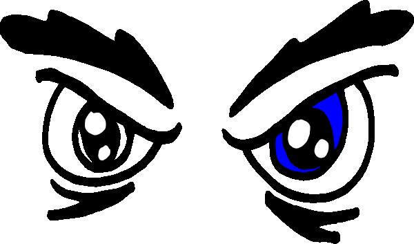angry eyes clip art at clkercom vector clip art online