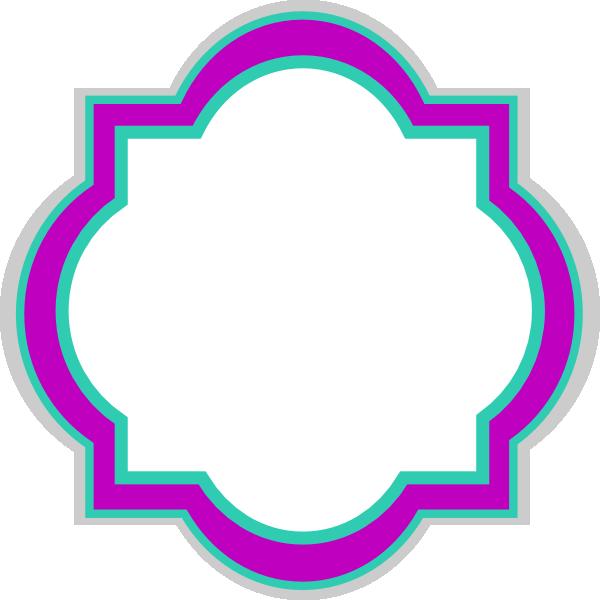 Decorative Frame Frozen Colors Clip Art at Clker.com - vector clip ...