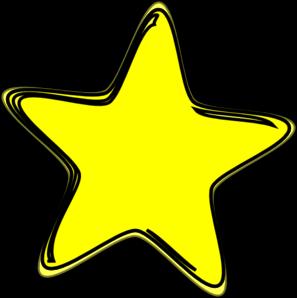yellow star2 clip art at clker com vector clip art yellow star clipart yellow christmas star clipart