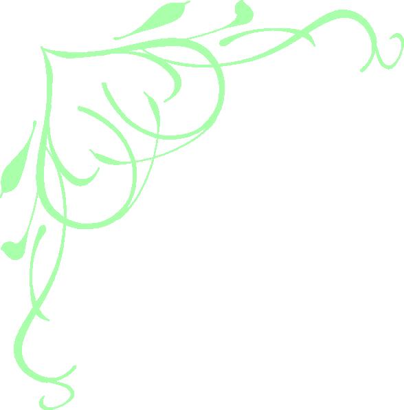 Pastel green swirl heart clip art at clker vector clip art download this image as altavistaventures Images