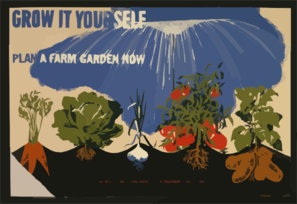 Grow It Yourself Plan A Farm Garden Now. Clip Art