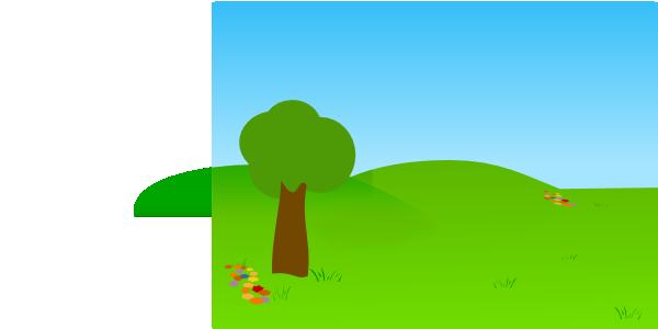 cartoon landscape clipart - photo #22