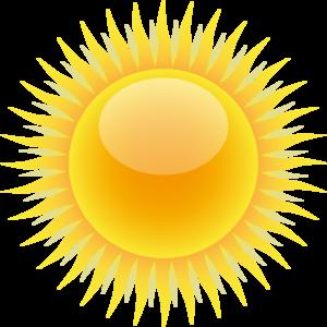 Sun Clip Art at Clker.com - vector clip art online, royalty free ...