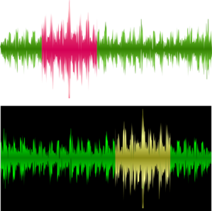 Sound Wave Recording Clip Art