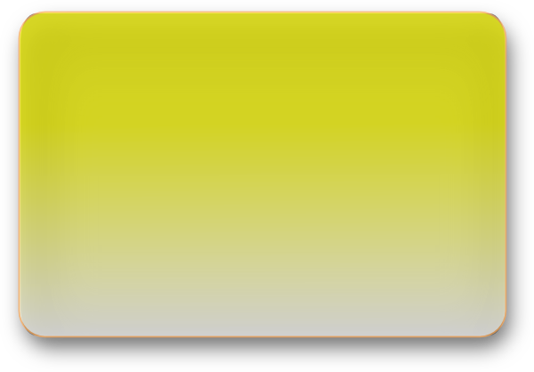 Yellow Glossy Rectangle Button Clip Art at Clker.com ...