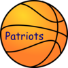 Patriot Basket Ball Clip Art