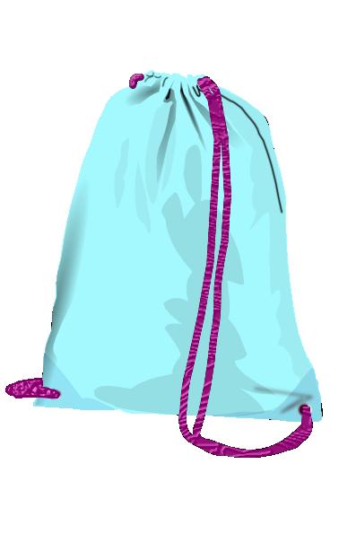 Drawstring Bag Clip Art at Clker.com - vector clip art online ...