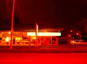 Night At Number Two Road And Blundell Road Richmond Facing East Image