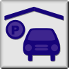 Hotel Icon Indoor Parking Clip Art