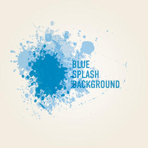Blue Splash Background 1 Image