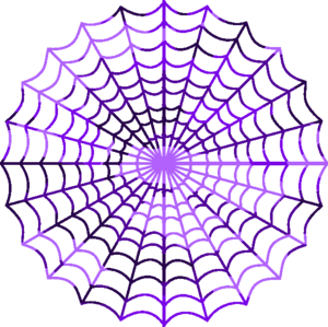 Camouflage Purple Spiders Web Image