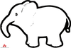 Cartoon Clipart Of Elephant Image
