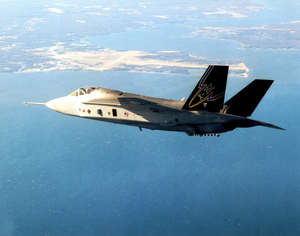 X-35c Jsf Test Flight Image