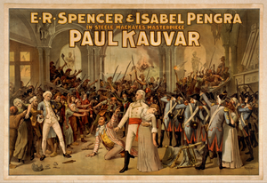 E.r. Spencer & Isabel Pengra In Steele Mackaye S Masterpiece, Paul Kauvar Image