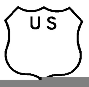 Highway Symbols Clipart Image