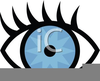 Cartoon Eyeballs Clipart Image