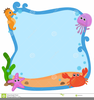 Cute Ocean Animal Clipart Image