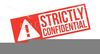 Confidential Rubber Stamp Clipart Image