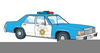Animated Police Cars Clipart Image