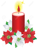 Clipart Of Lighted Candle Image