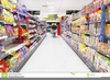 Grocery Aisle Clipart Image