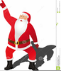 Animated Dancing Santa Clipart Image