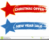 Christmas Stars Clipart Image